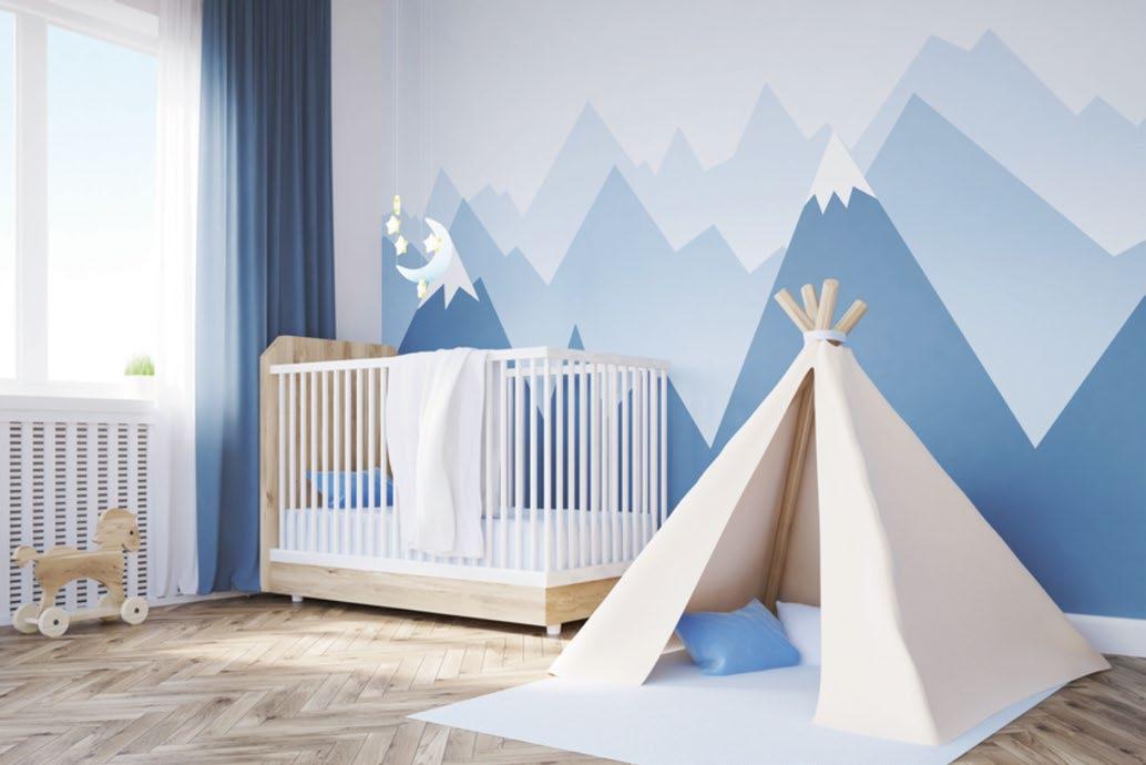 Aménagement de chambre bébé